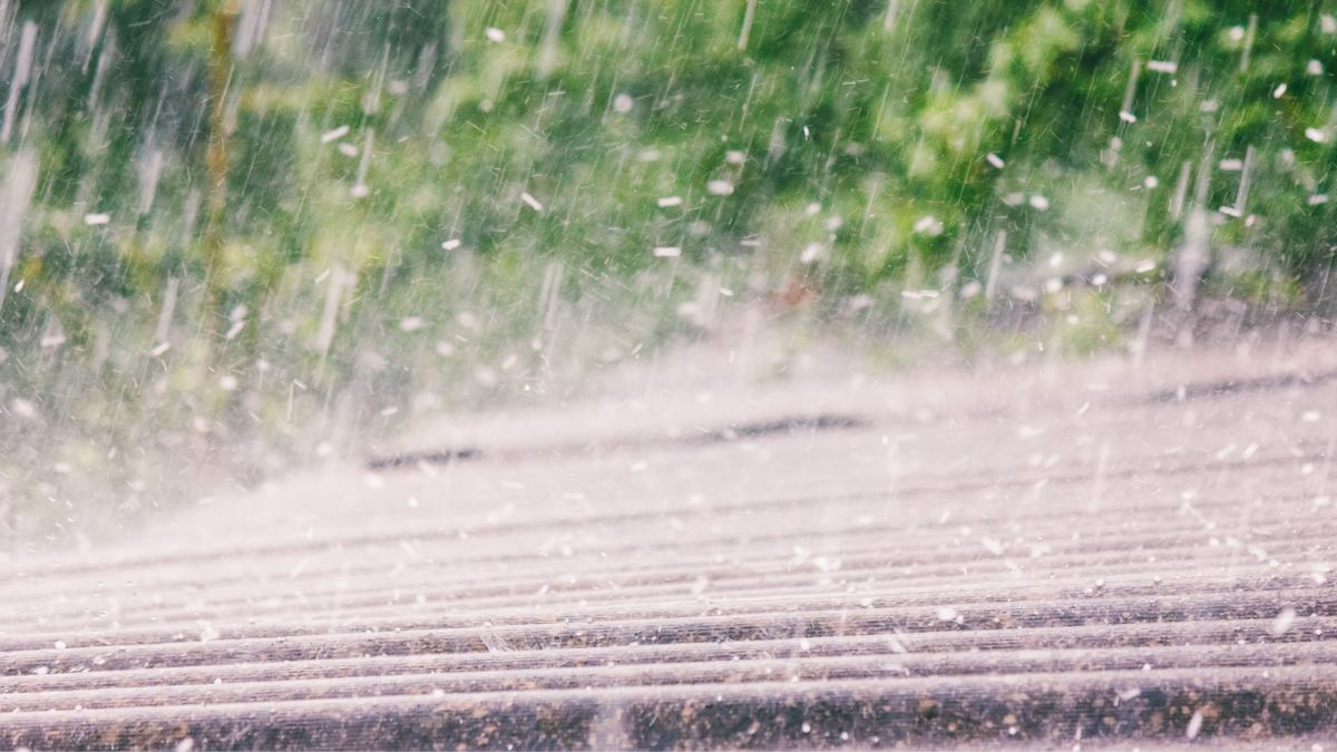 how to identify hail damage to your roof