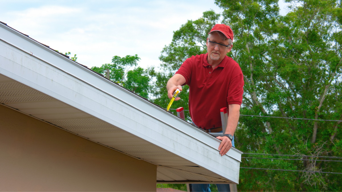 What is the roof inspection process?